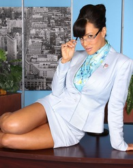 Lisa Ann as Sarah Palin in Letterman\\'s Nailin Palin