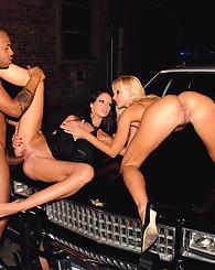 My big dick black teacher found me working as a street whore