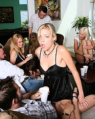 I went to another of Ally Ann's famous house parties and it was raging as usual. Lyla Storm was giving head in one corner while Lana Violet was g