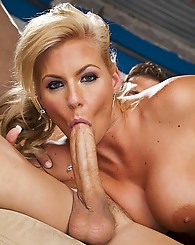 Phoenix Marie fucking cock and loving it