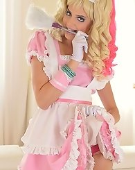 Hungarian cutie does hot cosplay