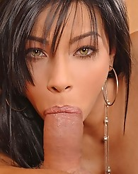 Sexy brunette's hard fucking